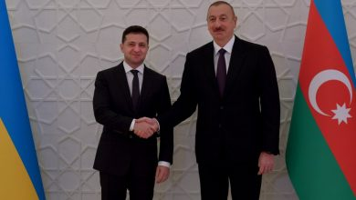 Photo of President of Ukraine during a meeting with the President of Azerbaijan: Our relations should reach a new level