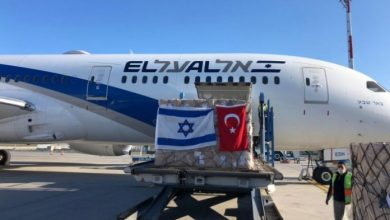 Photo of El Al cargo plane lands in Turkey to collect coronavirus aid for US: report